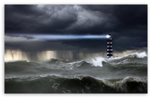 Download Sea Storm UltraHD Wallpaper