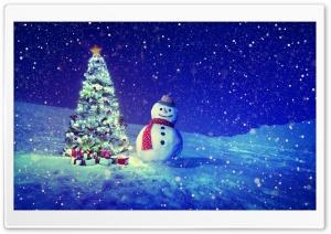 Christmas Tree, Snowman,...