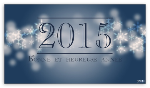 Download Happy New Year - Bonne et Heureuse Anne UltraHD Wallpaper