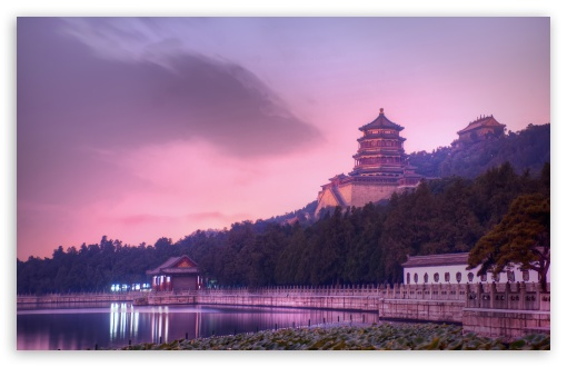 Download Beijing At Dusk UltraHD Wallpaper
