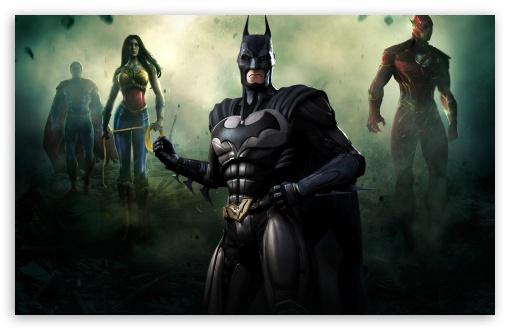 Download Injustice Gods Among Us - Batman UltraHD Wallpaper