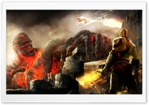 Kratos And Titan