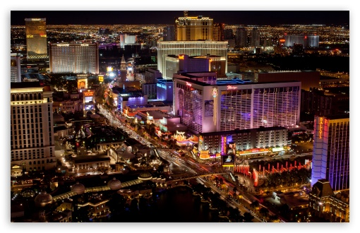 Download Las Vegas Strip UltraHD Wallpaper