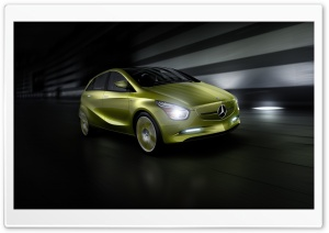 Lime Mercedes Benz e Cell...