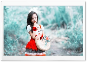Pretty Oriental Woman