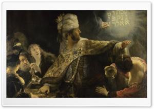Rembrandt Feast Of Belshazzar