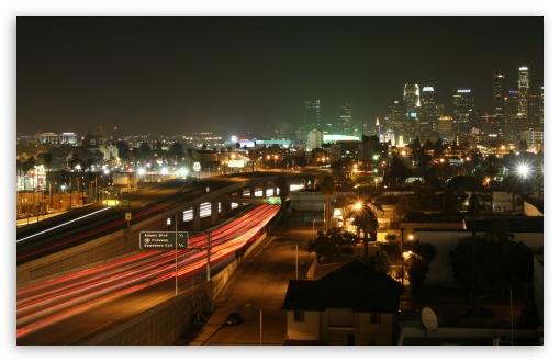 Download Los Angeles By Night UltraHD Wallpaper
