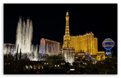 Download Paris Las Vegas UltraHD Wallpaper