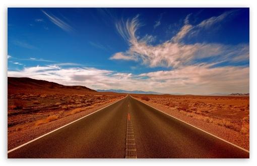Download Journey Road UltraHD Wallpaper