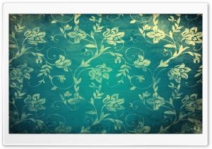 Vintage Floral Wall