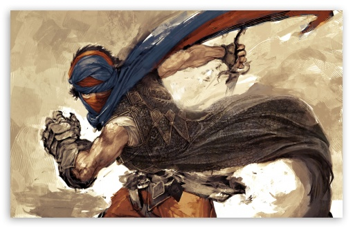 Download Prince Of Persia Prodigy Art UltraHD Wallpaper