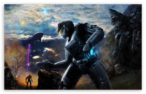 Download Halo Concept Art UltraHD Wallpaper