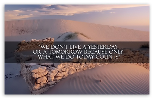 Download Tony Gaskins Only What We Do Today Counts UltraHD Wallpaper