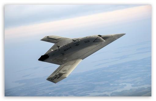 Download Northrop Grummans X-47B Pegasus UltraHD Wallpaper