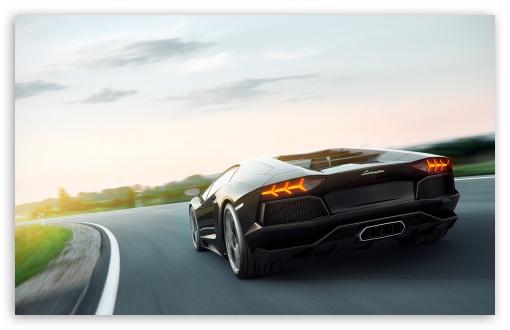 Download Lamborghini Aventador Art UltraHD Wallpaper