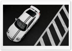 Porsche 997 Black And White