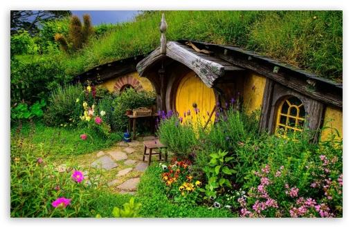 Download The Hobbit Village UltraHD Wallpaper