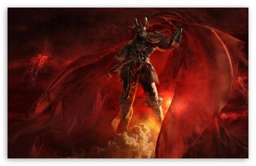 Download Fantasy Demon UltraHD Wallpaper
