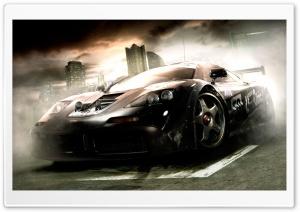 Racing Car Smoke