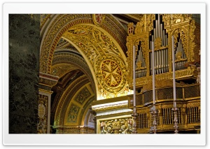 Cathedral Golden Interior