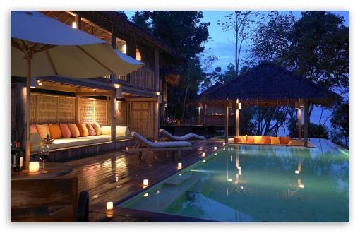 Download Luxury Resort UltraHD Wallpaper
