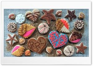 Pastry Cookies Design Heart
