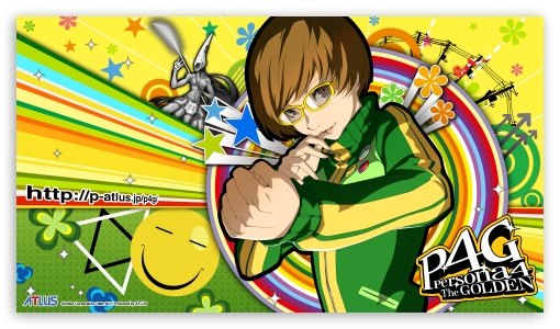 Download Persona 4 Chie UltraHD Wallpaper