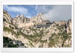 Montserrat Mountain Catalonia
