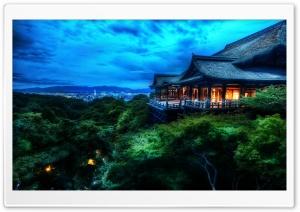Kyoto, Japan At Night