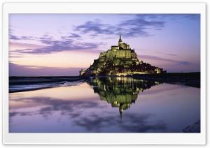 Mont Saint Michel, Normandy,...