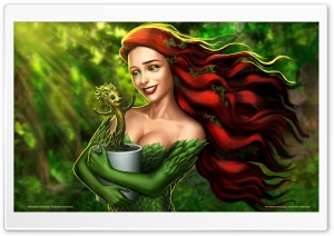 Groot and Poison Ivy