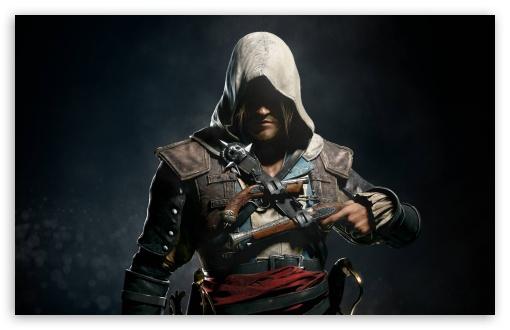 Download Assassins Creed IV Black Flag 2013 Edward UltraHD Wallpaper