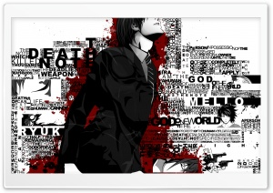 Death Note Typography