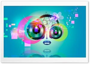 DJ Woman Eyes Dynamics Nose...