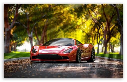 Download Aston Martin DBC 2013 Concept UltraHD Wallpaper
