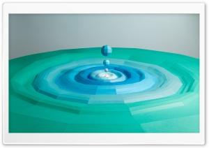 Water Droplet Splash Paper...