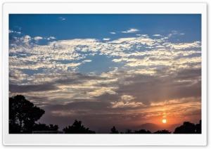 Sunset In Pakistan, Peshawar,...