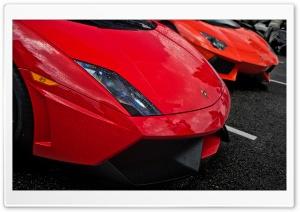 Red Lamborghinis