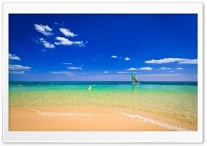Beach Ocean Horizon