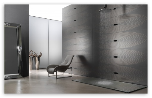 Download Grey Bathroom UltraHD Wallpaper