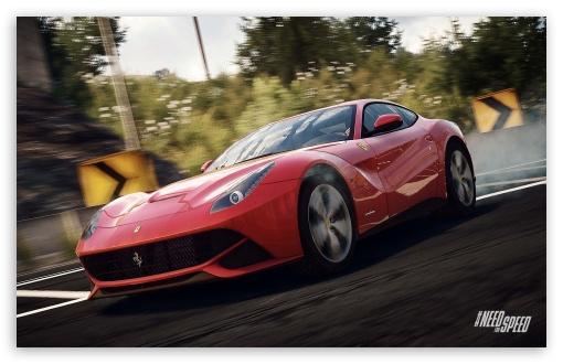 Download Need for Speed Rivals Ferrari UltraHD Wallpaper