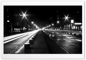 Street View At Night