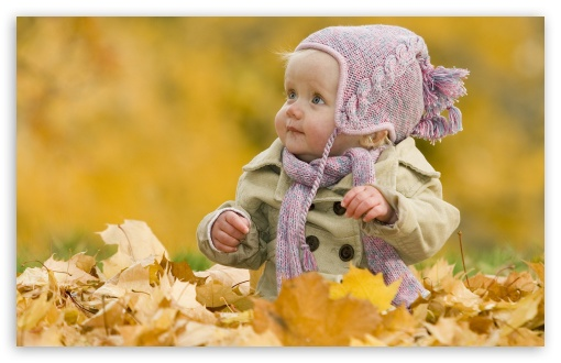Download Cute Baby UltraHD Wallpaper