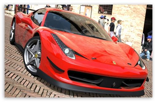 Download 458 Italia Rojo UltraHD Wallpaper