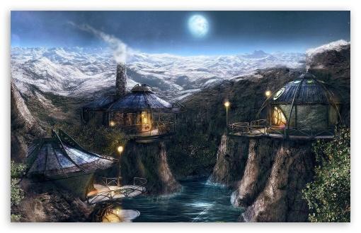Download Fantasy Lands 50 UltraHD Wallpaper