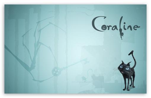 Download Keith David As The Cat Coraline UltraHD Wallpaper