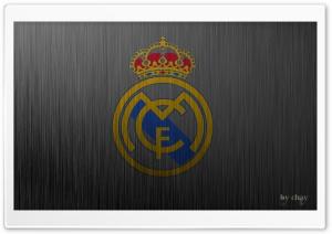Real Madrid Metal Logo