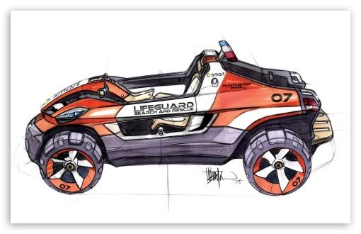 Download Smart Rescue Sketch 1 UltraHD Wallpaper