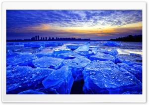 Blue Ice Dawn