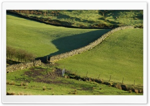 Walls, Green Fields And...